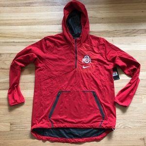 Nike Ohio State Hooded 1/2 Zip